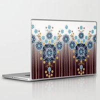 folk Laptop & iPad Skins featuring Folk Festival by Vikki Salmela