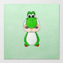 A Boy - Yoshi Canvas Print