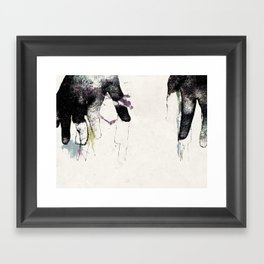 Playing Piano Framed Art Print