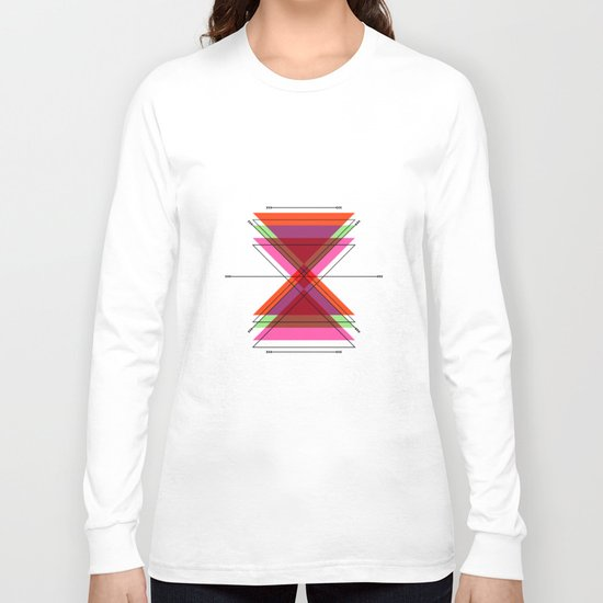 ISOMETRIC MINIMAL Long Sleeve T-shirt