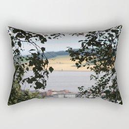 Through the Bushe Rectangular Pillow