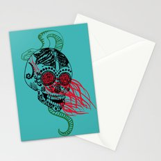 Skull and Snake Stationery Cards