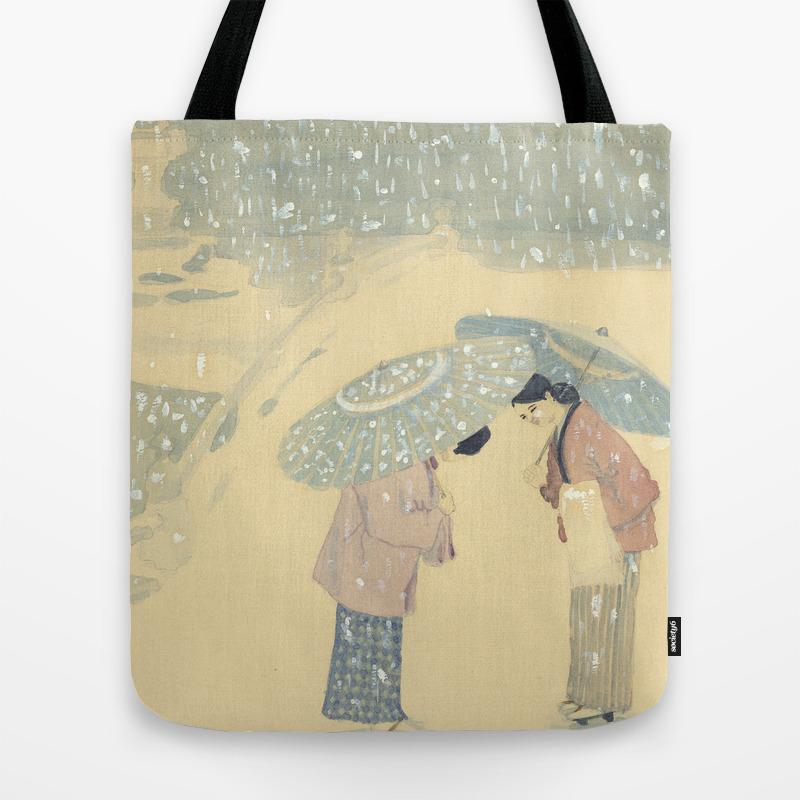 Parasols Tote Bag by Gmld (TBG9398091) photo