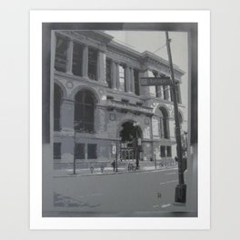 Chicago Public Library Art Print