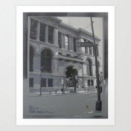 Chicago Public Library Art Print