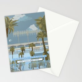 Dodger Stadium Gates View Stationery Cards