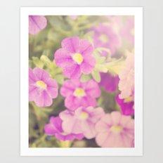 Mother's Garden Art Print