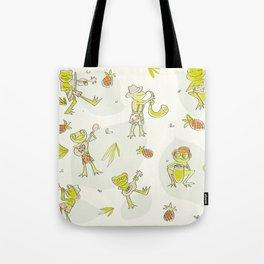 Frog Jamboree  Tote Bag
