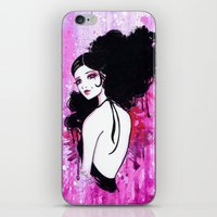madrid iPhone & iPod Skins featuring Madrid by Leilani Joy