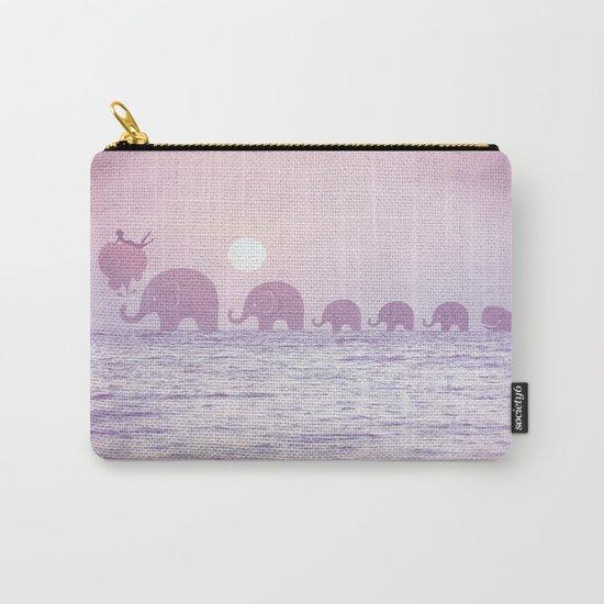 Elephants - a dream walk Carry-All Pouch