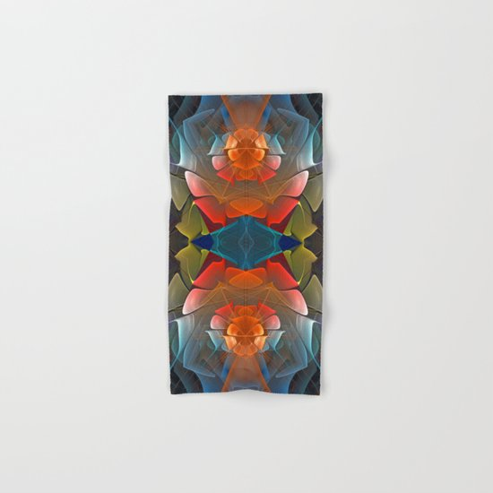 Colourful unfolding fantasy abstract Hand & Bath Towel