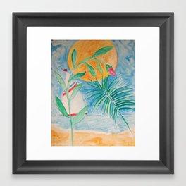 sun and sail Framed Art Print