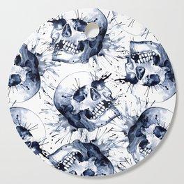 Skull Pattern Cutting Board