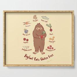Bigfoot Eats Gluten Free Serving Tray