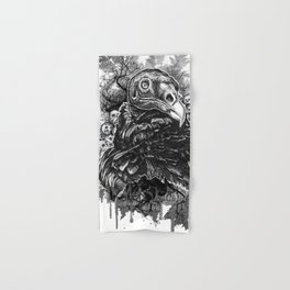 Vulture and Pine Hand & Bath Towel