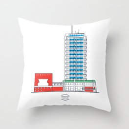 CCS_HotelHumboldt Throw Pillow