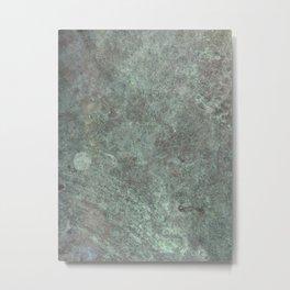 Metal- Tarnished Copper Metal Print