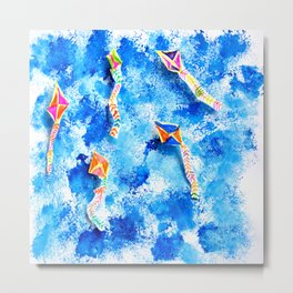 FREE SPiRiT KiTES | Fashion Kids Metal Print