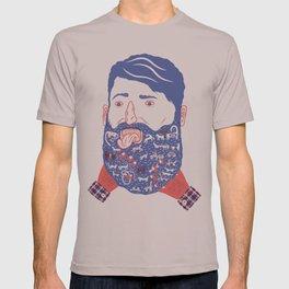 Animals in Beard T-shirt