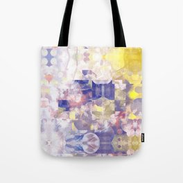 prism soft abstract Tote Bag