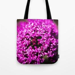Pink Valerian Tote Bag