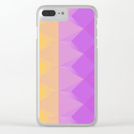 Perfect geometry Clear iPhone Case