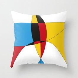 serge-pichii-abstract-00579 Throw Pillow