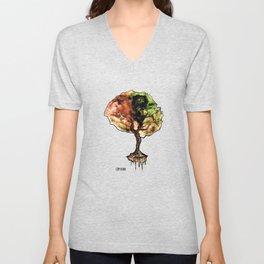 A Tree of Life Unisex V-Neck