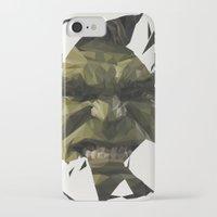 hulk iPhone & iPod Cases featuring Hulk by s2lart