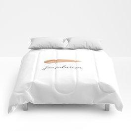 FOUNDATION - MAKEUP LOVER Comforters