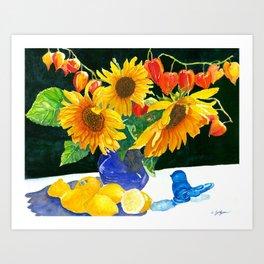 Lemonade Anyone? Art Print
