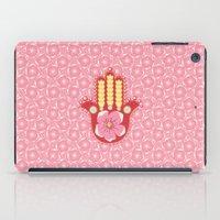 hamsa iPad Cases featuring Hamsa by Moirarae