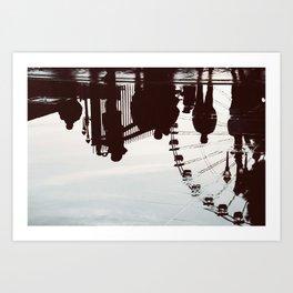 Nizza Art Print