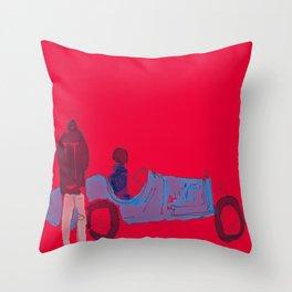 Group Drive Throw Pillow