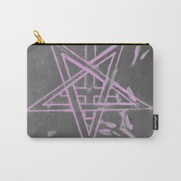 Unholy in Pink Sigil Carry-All Pouch