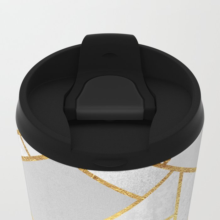 Gold City Metal Travel Mug