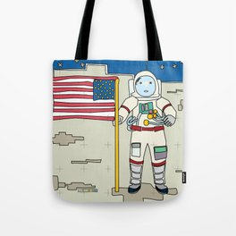 Moon Astronaut 1969 Tote Bag