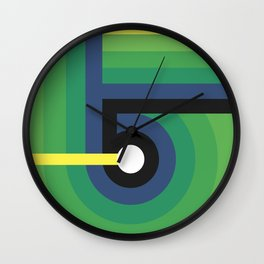 Number Five Wall Clock