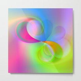 color whirl -23- Metal Print