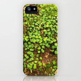 Moss is slow life iPhone Case