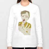 tooth Long Sleeve T-shirts featuring TOOTH by Anna Wanda Gogusey