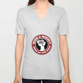 High and Mighty Unisex V-Neck