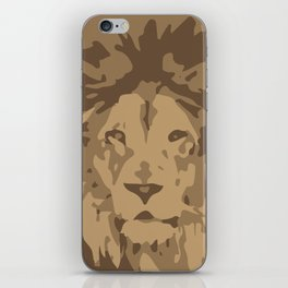 lion-y camo iPhone Skin