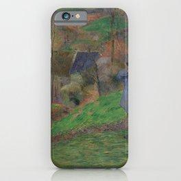 Paul Gauguin - Landscape of Brittany (1888) iPhone Case