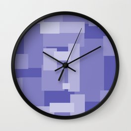 Matted Purple - Color Therapy Wall Clock