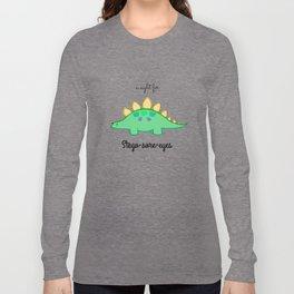 Stego-sore-eyes Long Sleeve T-shirt