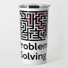 Problem Solving Maze Travel Mug