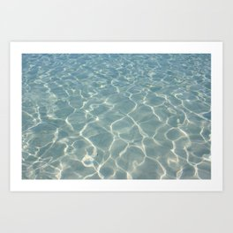Dive Right In.... Art Print