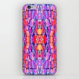 Ultraviolet Purple Sugarcane Pattern iPhone Skin