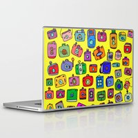 cameras Laptop & iPad Skins featuring Cameras by andy_panda_